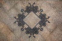 铁艺方形花纹墙贴