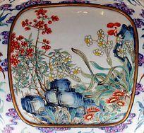 中国画兰花