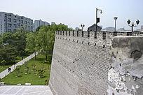 北京明城墙遗址