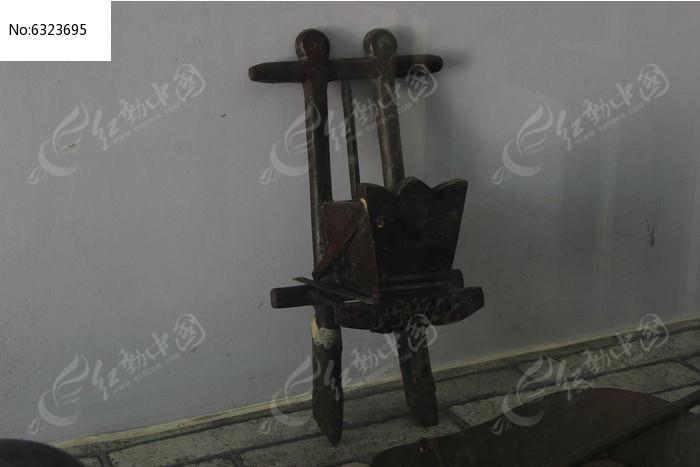 古代木制工具文物图片