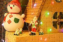 圣诞节的娃娃