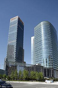 望京绿地中心建筑