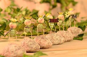 小虫子乐队桌面小摆件