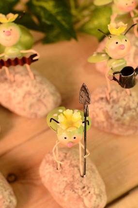小虫子桌面工艺品