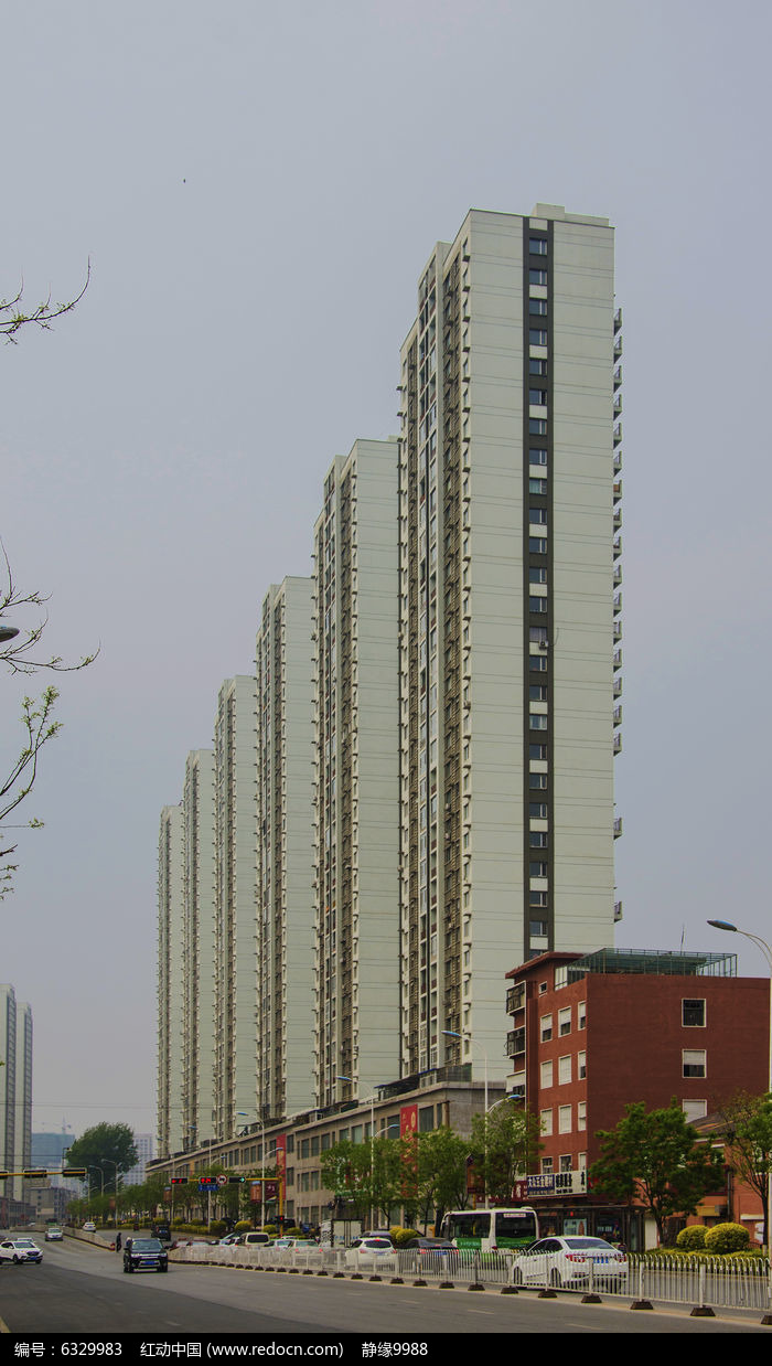 鞍山高层住宅楼高清图片下载(编号6329983)_红动网