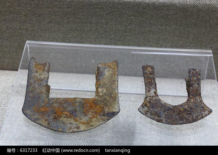 古代农具铁犁铧