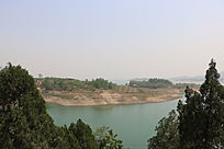 西柏坡湖泊岛屿