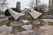 城市石头造型图片