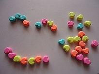 彩色的爱心