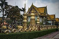 广州曼古园泰国风格建筑