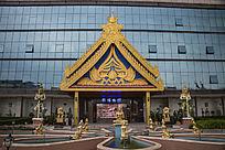 广州曼古园银博物馆正门
