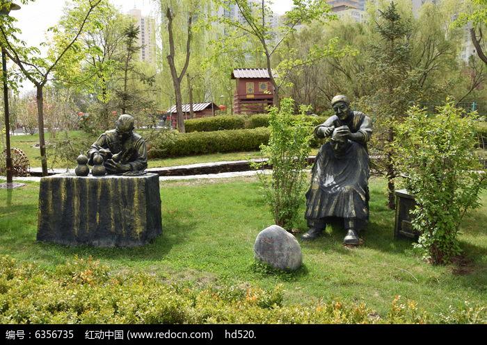 刻葫芦雕塑