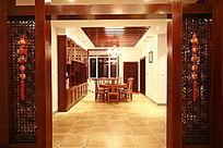 客厅一角室内设计效果图