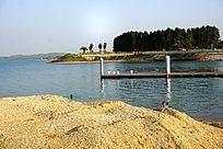 水库湖泊风景