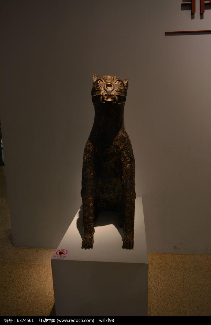 非洲木雕动物