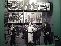 江西井冈山革命博物馆内的老照片