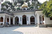 云南民族村里的清真寺