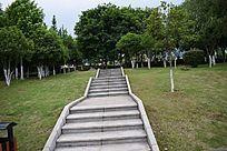 赣州滨江公园石阶