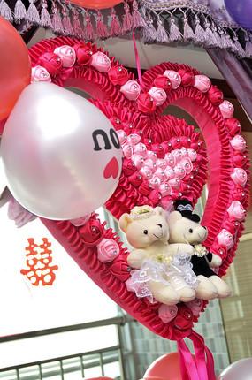 结婚玩具熊