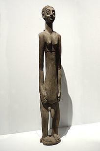 非洲木雕伊费族男祖先