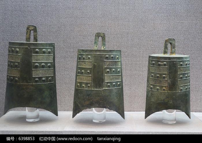 古代乐器青铜编钟图片,高清大图_文物古董素材