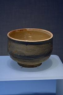 金国白釉钵