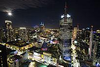 墨尔本城市夜景