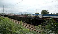 铁轨上的火车