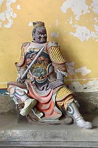 岳府十太保神像