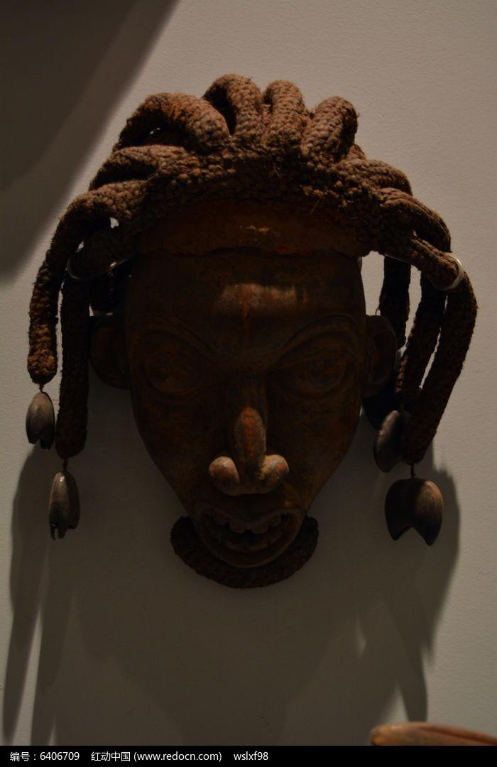 非洲长发男子木雕图片,高清大图_雕刻艺术素材