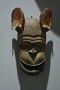 非洲大耳木雕