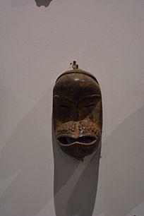 非洲大嘴人物木雕