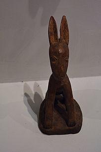 非洲动物木雕