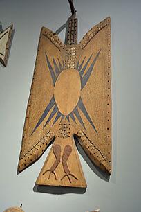 非洲动物纹挂饰