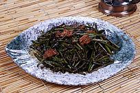 中国菜蕨菜炒肉