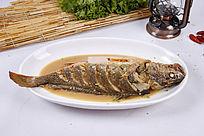 中国菜红烧鱼