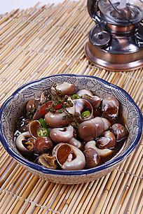 中国菜辣拌香螺