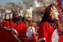 祭傩神 江西宁都黄石中村八月十五傩神节