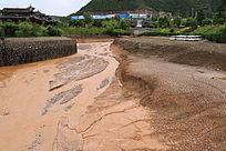 泥石流摄影