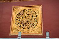 古典雕龙方窗