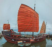南海仿古船