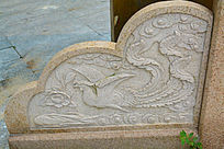 桥边凤凰石雕刻