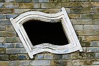 旗萝形古建筑窗户