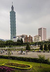 台湾城市建筑及广场