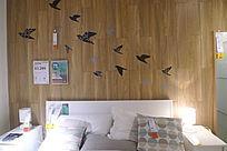 燕子南飞背景墙