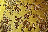 棕色花纹皮革纹理