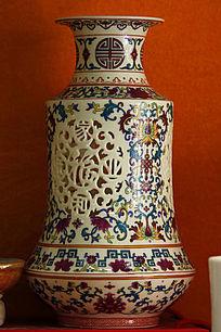彩绘工艺花瓶