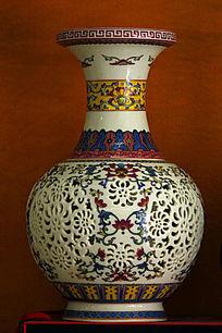 彩绘古典花瓶