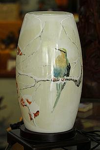 彩绘陶艺花瓶