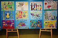 儿童创意彩画
